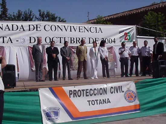 La Santa de Totana acogió un encuentro regional de voluntarios de Protección Civil, Foto 2