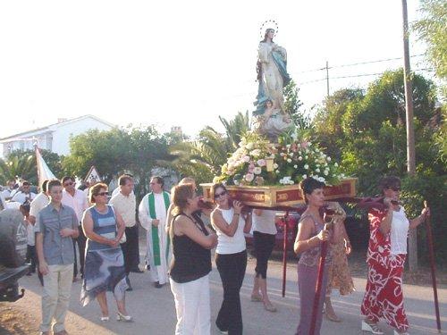 Los vecinos de Raiguero Bajo celebraron las fiestas en honor a Santiago Apóstol y Santa Ana, Foto 3