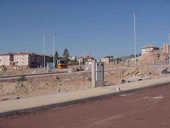 Las obras de urbanización de La Ramblica , Foto 1