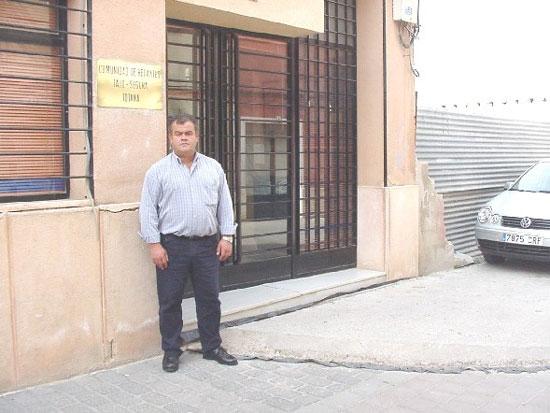 Juan Pagán Sánchez fue elegido presidente de la Comunidad de Regantes de Totana, Foto 1