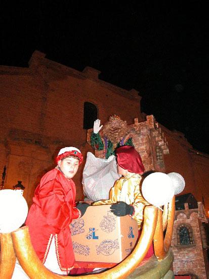Los Reyes Magos llenaron de ilusión los hogares de los niños totaneros, Foto 1
