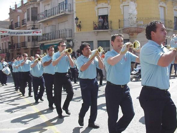 El Día de la Música Nazarena aproxima el ambiente de Semana Santa en la localidad, Foto 1