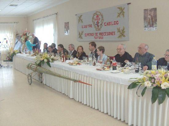 Ramón Luis Valcárcel rememoró la tradición nazarena en el Pregón de la Semana Santa, Foto 6