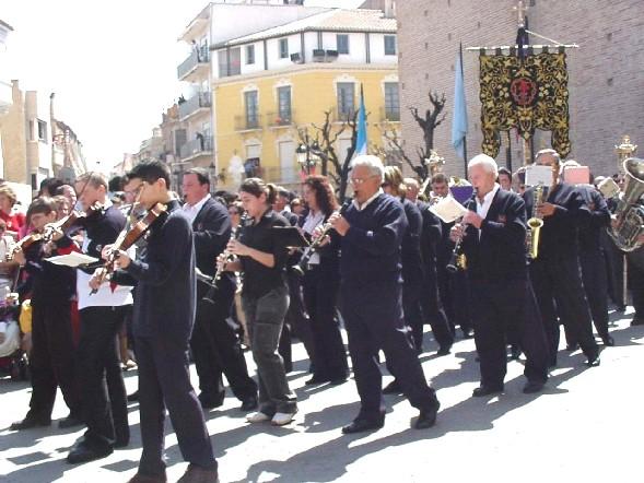 El Día de la Música Nazarena aproxima el ambiente de Semana Santa en la localidad, Foto 9