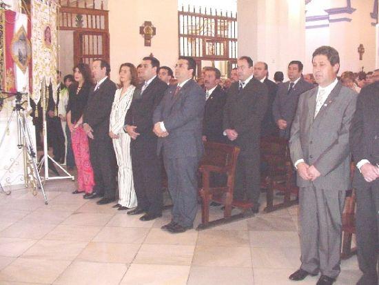 Ramón Luis Valcárcel rememoró la tradición nazarena en el Pregón de la Semana Santa, Foto 2