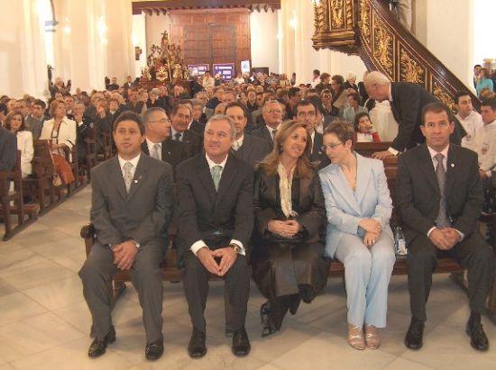 Ramón Luis Valcárcel rememoró la tradición nazarena en el Pregón de la Semana Santa, Foto 3