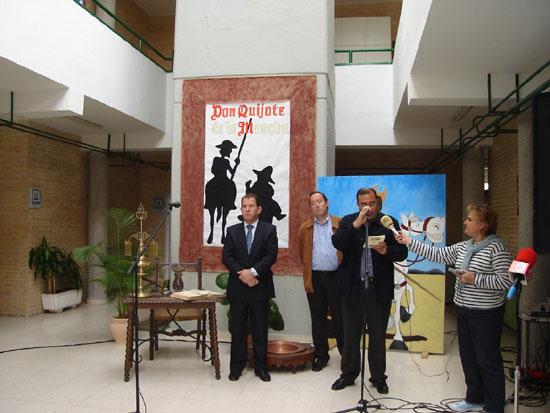 El Quijote, protagonista de la Semana Cultural organizada por el C.P. «Tierno Galván», Foto 2