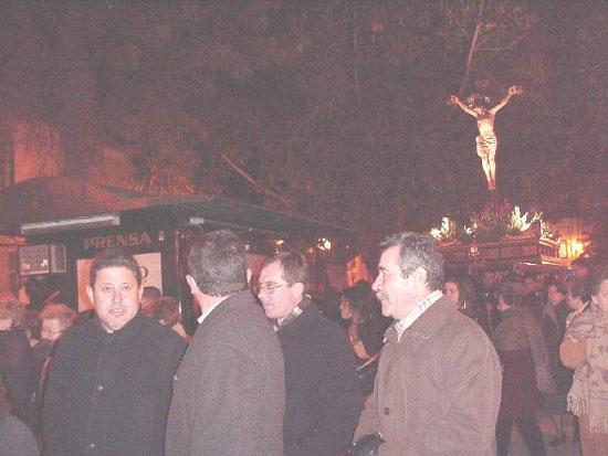 Numerosas personas participaron en el Vía Crucis organizado por la Hermandad de Jesús en el Calvario y Santa Cena, Foto 5