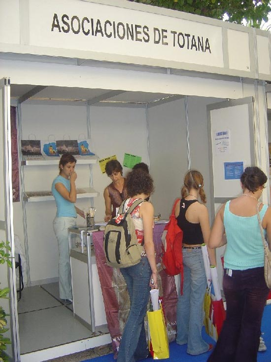 Totana estuvo presente también en la Zona Joven 2004, Foto 2