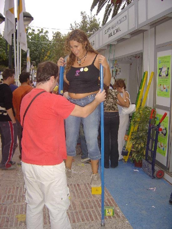 Totana estuvo presente también en la Zona Joven 2004, Foto 4